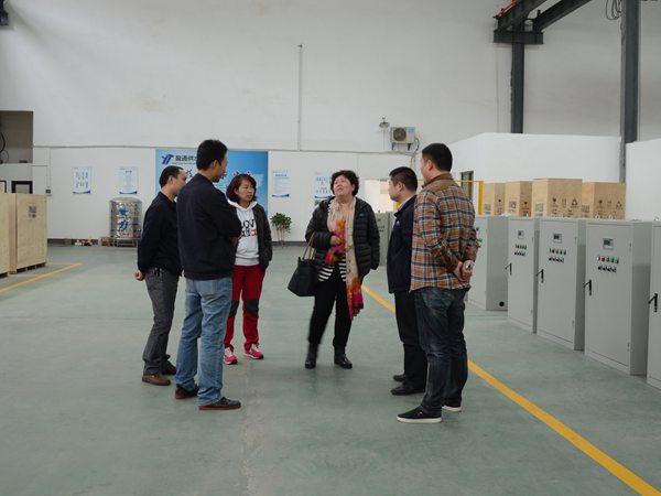 天津文廣集團在湖南盈通考察