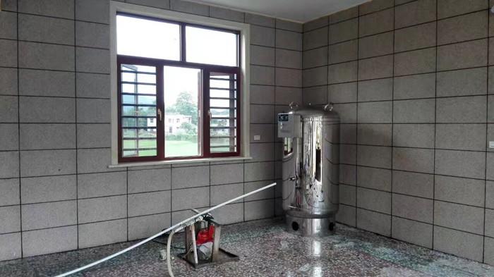湘乡客户自建房采用盈通无塔供水器