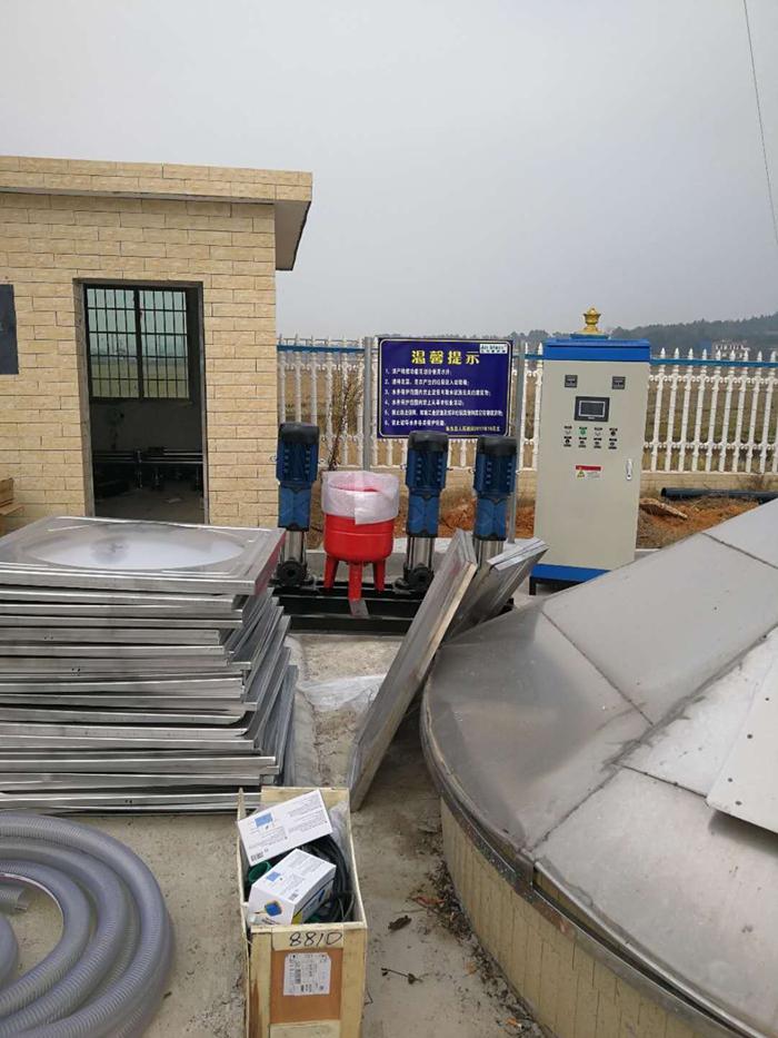 柏桥村恒压供水设备