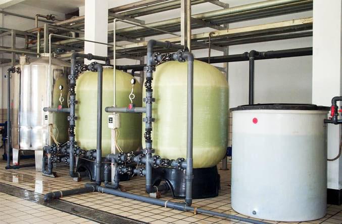宏信创新产业园50立方软化水处理工程
