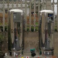 客户订购450L升级款无塔供水器