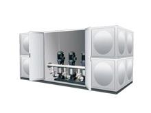 恒压箱泵一体化设备变频设备(无需泵房,可置于室外)